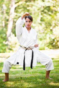 Karate Woman Park 1